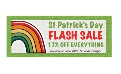 Sns- flash sale st pats