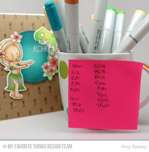 MFT Aug Day 4 Card Copics by AmyR