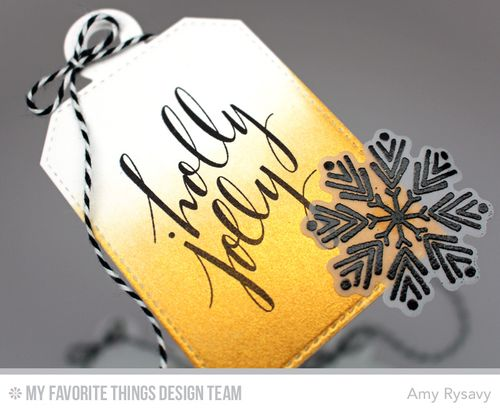 Gold Tag Closeup by AmyR