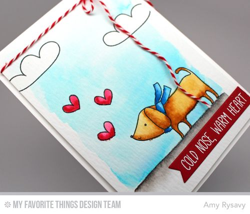 MFT Woof You Card Closeup by AmyR