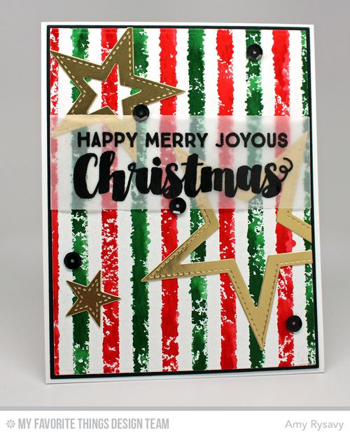 MFT Merry Joyous Christmas Card by AmyR