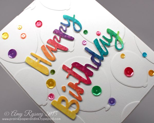 Prairie Paper Ink SSS December Release Happy Birthday Card – Happy Birthday Cards Youtube