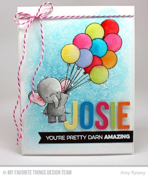 Josies 10 Bday Card by AmyR
