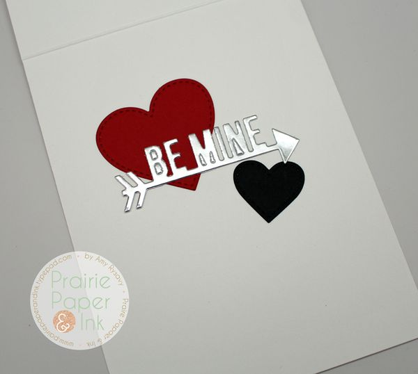prairie paper  ink mft straight to my heart card  amyr