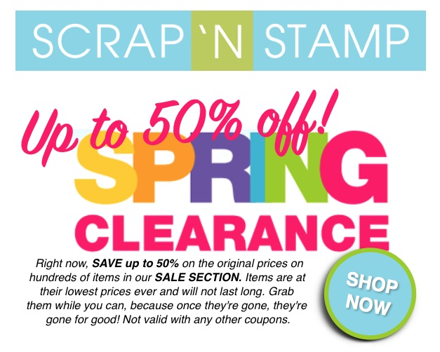 SNS spring clearance