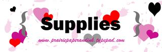 Valentine Supplies by AmyR