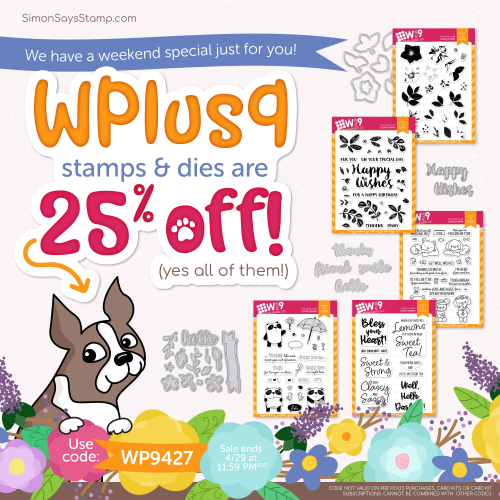 WPlus9 SALE At Simon Says Stamp