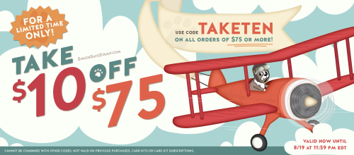 Click HERE To Shop Simon Says Stamp And Take 10 Off Orders Of 75 Or More With The Code TAKETEN