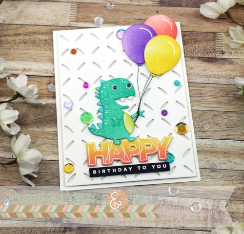 I Couldnt Resist Using The New Picture Book T Rex Wafer Die For My Card