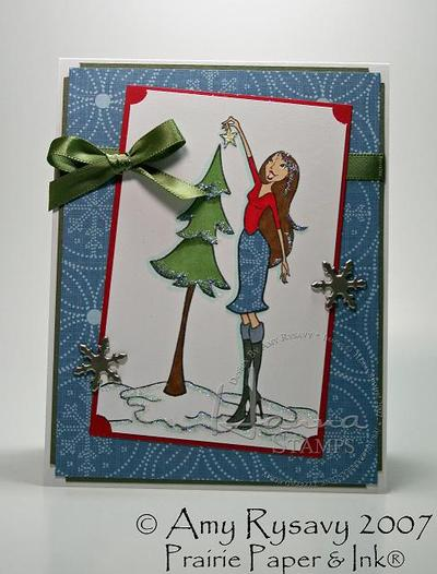 Hanna_stamps_tis_the_season_card_by