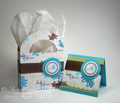 Prairie Paper & Ink: Monogrammed Wedding Gift