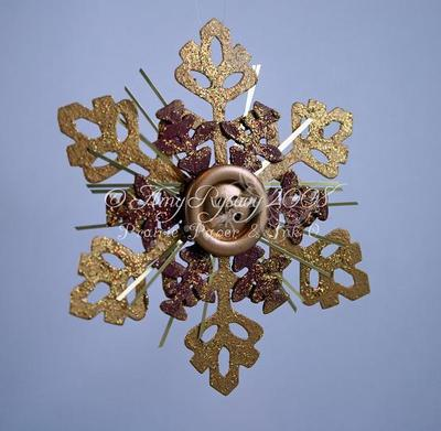 Gold_glitter_snowflake_ornament_by_